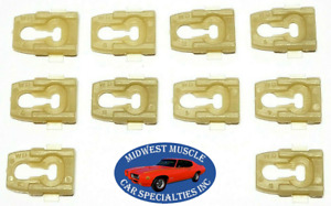 Nos Ford Torino Galaxie Ranchero Side Belt Molding Moulding Trim Clips 10pcs Or