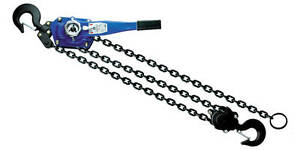 Chain Come Along Lever Chain Hoist Ratcheting 6t 5ft Lift