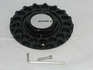Avid1 Av 05 Str Rs Black Wheel Rim Center Cap C 850 247l169 Or 135s170 Or 679 2