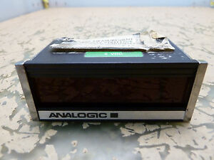 Analogic An2575 1x1x 5vdc Panel Volt Meter 2 e 17 5