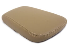 Center Console Armrest Leather Synthetic Cover For Chrysler 200 11 14 Beige