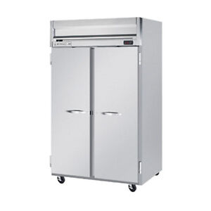 Beverage Air Hr2hc 1s Solid Door Two section Reach in Refrigerator