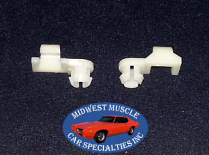 81 98 Chevrolet Silverado Gmc Sierra Tailgate Handle Rod Latch Clips Pair New Jp