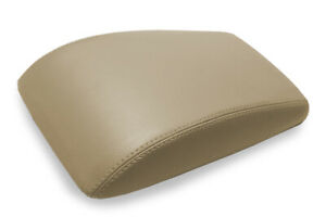 Console Lid Bucket Seat Cover Leather For Buick Lacrosse 2005 2009 Beige