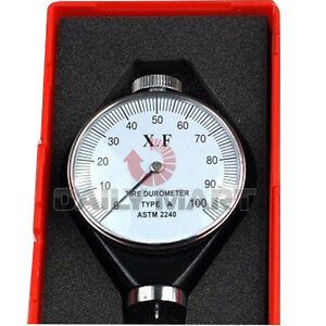 New Dial Shore Type O Rubber Tire Tyre Durometer Hardness Tester Meter Tool 1pc