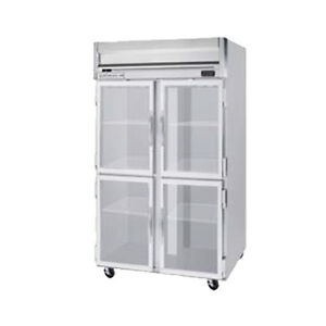 Beverage Air Hfp2hc 1hg Half Glass Door Two section Reach in Freezer