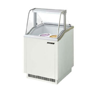Turbo Air Tidc 26w n Ice Cream Dipping Cabinet White
