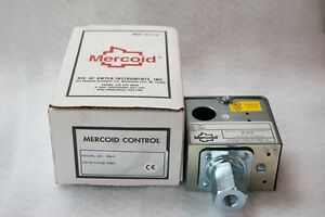 Mercoid Cs 1 Pressure Switch Nib Never Used From Non Smoking Environment