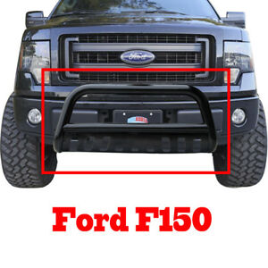 Black Steel Bull Bar Bumper Grille Guard For Ford F150 04 17 Expedition 03 17