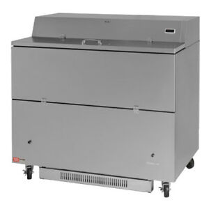 Turbo Air Tmkc 49s n ss Single Sided Door Milk Cooler