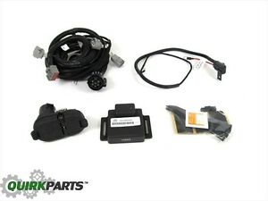 14 17 Jeep Cherokee Trailer Tow Wiring Kit Harness 7 4 Way Connecton New Mopar