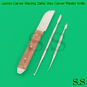 Lecron Carver Waxing Modelling Tools Zahle Wax Carver Plaster Knife Lab