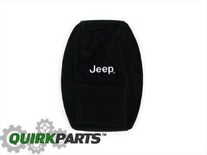 2011 2019 Jeep Grand Cherokee Center Console Armrest Cover Armour With Jeep Logo