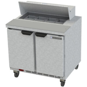Beverage Air Spe36hc 08 36 Refrigerated Sandwich Salad Prep Table