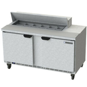 Beverage Air Spe60hc 12 60 Refrigerated Sandwich Salad Prep Table