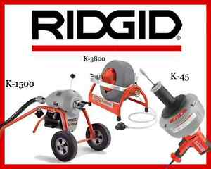 Ridgid K 1500 Sectional Machine 23707 K 3800 Machine 53117 K 45 1 Machine 36013