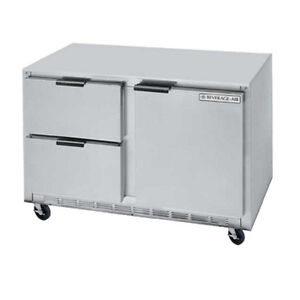 Beverage Air Ucrd60ahc 2 60 Undercounter Reach in Refrigerator W Drawers