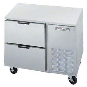 Beverage Air Ucrd46ahc 2 46 Undercounter Reach in Refrigerator W Drawers