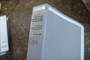 Case 855 Road Motor Grader Parts Manual Book Catalog Spare 2002 List Brazil Oem