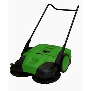 Bissell 38 Deluxe Triple Brush Push Power Sweeper 13 2 Gallon Debris Container