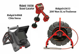Ridgid 200 Color Reel 14053 Navitrack Scout Locator 19238 Cs6x 57138
