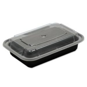 16 oz Versatainer Rectangular Food Containers 150 Containers pctnc8168b