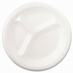 Celebrity 8 7 8 Foam Plate With Three Compartments gnp 83900