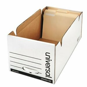 Universal Storage Box Drawer Files 12 X 24 X 10 6 Per Carton unv85120