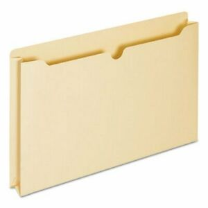 Universal File Jackets With 2 Expansion Legal 11 Point 50 Per Box unv76500