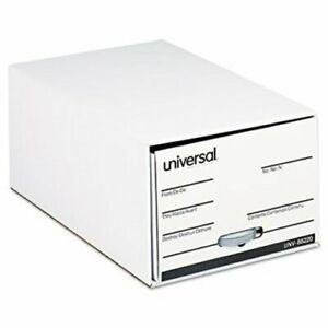 Storage Box Drawer Files Fiberboard 15 X 24 X 10 6 Per Carton unv85220