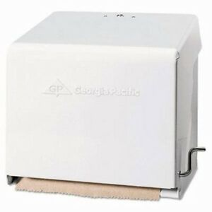 Georgia Pacific Mark Ii Crank Roll Towel Dispenser White gpc56201