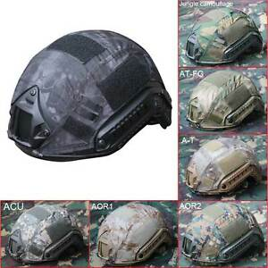 Outdoor Airsoft Paintball Tactical Military Combat Fast Helmet Protective Cover