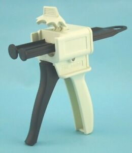 Dental Universal Impression Mixing Dispenser Gun 1 1 2 1 25ml Cartridge dg25