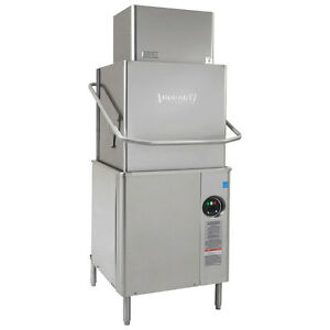 Hobart Am15vl 6 Ventless Door Type Dishwasher