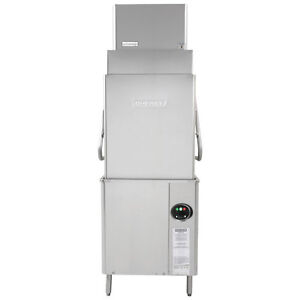 Hobart Am15vlt 6 Ventless Door Type Tall Dishwasher