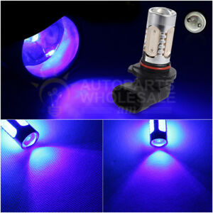 2 H10 Blue 9145 Cob Led Projector Lens Bulbs For Car Driving Fog Lights
