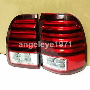 1998 2002 Year For Lexus Cygnus Lx470 Led Tail Lights Rear Lamps Red White Lf