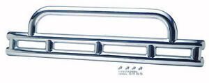 Front Bumper Double Tube 3 Polished Stainless For Jeep Wrangler Yj 87 95 30446