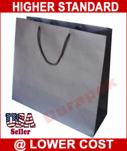 100 Pk All Colors Cub Euro Tote Matte Laminated Bags Grocery Shopping Shopper