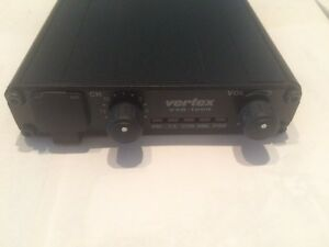 Vertex Vxr 1000u Uhf Fm Vehicular Cross band Repeater Police Fire Radio