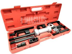 13pc Heavy Duty Dent Puller W Slide Hammer Auto Body Truck Repair Tool Kit