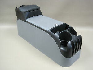 P71 Gray Center Console Crown Victoria Police With Black Tip Up Armrest