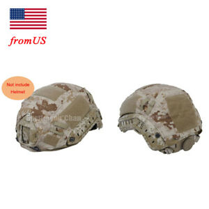 Fast Helmet Cover Tactical Airsoft Hunting Military Gear BJ PJ Multi Camo AOR1