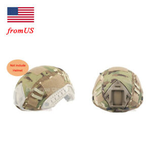 Fast Helmet Cover Tactical Airsoft Hunting Military Gear BJ PJ Multicam Camo MC