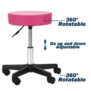 Adjustable Hydraulic Rolling Salon Barber Stool Chair Tattoo Massage Facial Spa