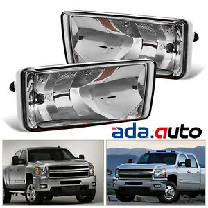 2007 2014 Chevy Silverado Tahoe Suburban Avalanche Smoke Fog Lights Left Right