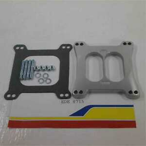 Edelbrock 8715 Carburetor Spacer 1 2 Performer Divided wall Spacer