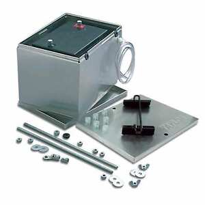 Taylor 48100 Battery Box Aluminum With Hold Down Components 13 5 x9 5 x10 Size