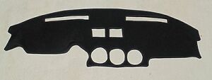 Fits 1979 1983 Datsun Nissan 280zx Dash Cover Mat Dashboard Cover Black Black