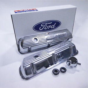 Ford Racing M 6582 A302r Engine Valve Cover Ford 289 302 351w Except Efi Polis